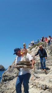 Il pellegrinaggio con San Silverio a Palmarola