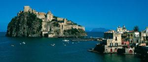 Ischia. Castello aragonese. Wide