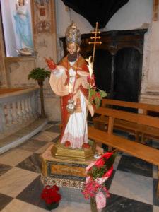 San Silverio statua 10 giugno