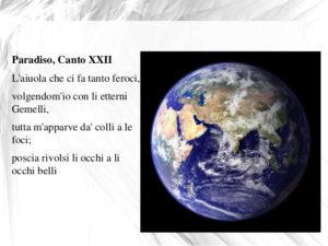Dante. Paradiso Canto XXII