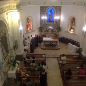 La chiesa di S. Giuseppe a Santa Maria