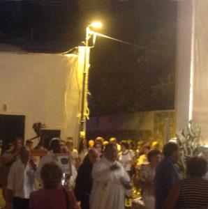 La processione notturna