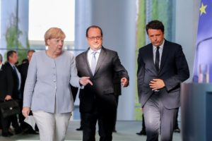 Merkel-Hollande-Renzi