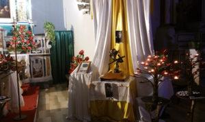Presentazione delle reliquie