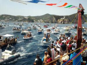 San Silverio. Processione per mare