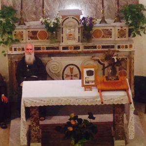 Sull'altare