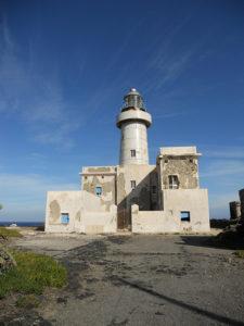 faro di punta spadillo Pantelleria