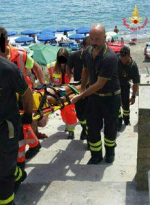 soccorso a Ventotene