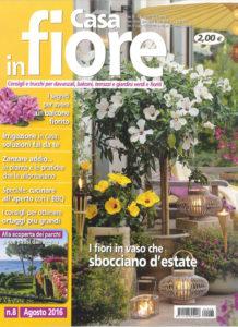 Casa in fiore. n°8. Agosto 2016. Resized