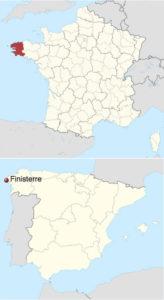Finisterre SP. Finistère FR. BIS