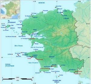 I fari di Finistère. Da Wikipedia