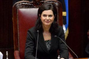 La presidente della Camera Boldrini