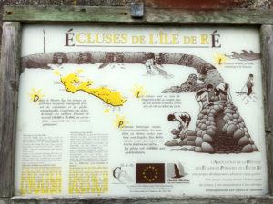 Le chiuse dell'ile de Ré. Cartello. Resized