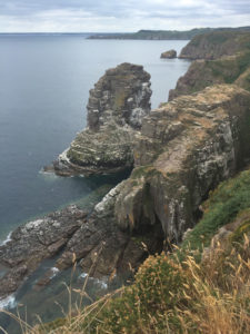 Le rocce di Cap Frehel