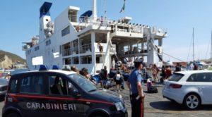 Ponza allarme bomba. Foto corriere.it
