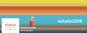 Ponzaestate 2016. Logo