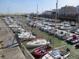 Porticciolo a 'Ile de Ré La Flotte a marée basse