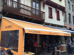 Rhumerie a St Brieuc