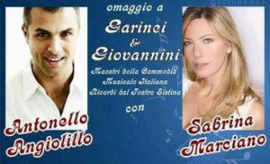Sabrina Marciano. Antonello Angiolillo