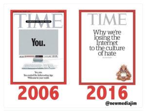 Time 2006- 2016. A confronto