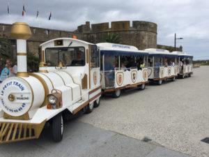 Trenino lillipuziano a St Malo