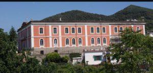 Casamicciola. Il palazzo delle scuole oggi