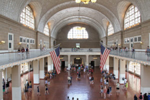Ellis Island Hall. Attuale