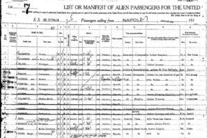 Lista passeggeri Pag.1