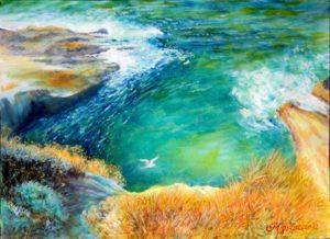 le-piscine-acrilico-su-carta-2012