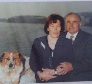 Maria e il marito Salvatore abitanti di Frontone
