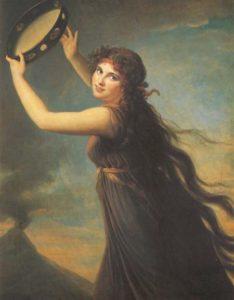 Elisabeth Vigée le Brun - Emma Hamilton (1765-1815), in veste di baccante