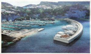 Il progetto del porto di cala dell'Acqua