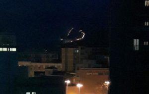 Incendio sui Monti Lepini