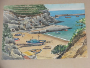 La spiaggia di cala Feola