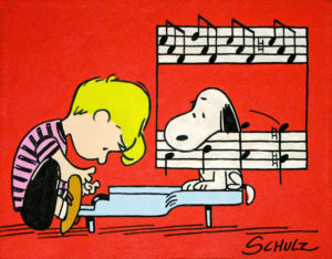 Schroeder e Snoopy