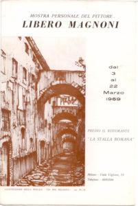 Magnoni. Mostra 1969