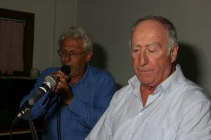 Nino con Franco a Lanuvio nel 2011