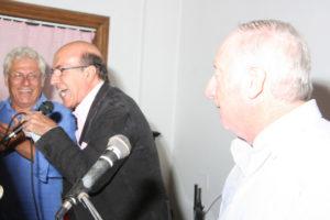 Nino (in foto sovraesposta) con Franco e Fausto