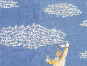 Poesia Nuvole. Piuma