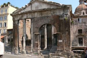 Roma. Portico di Ottavia