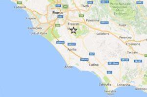 Terremoto ai Castelli romani