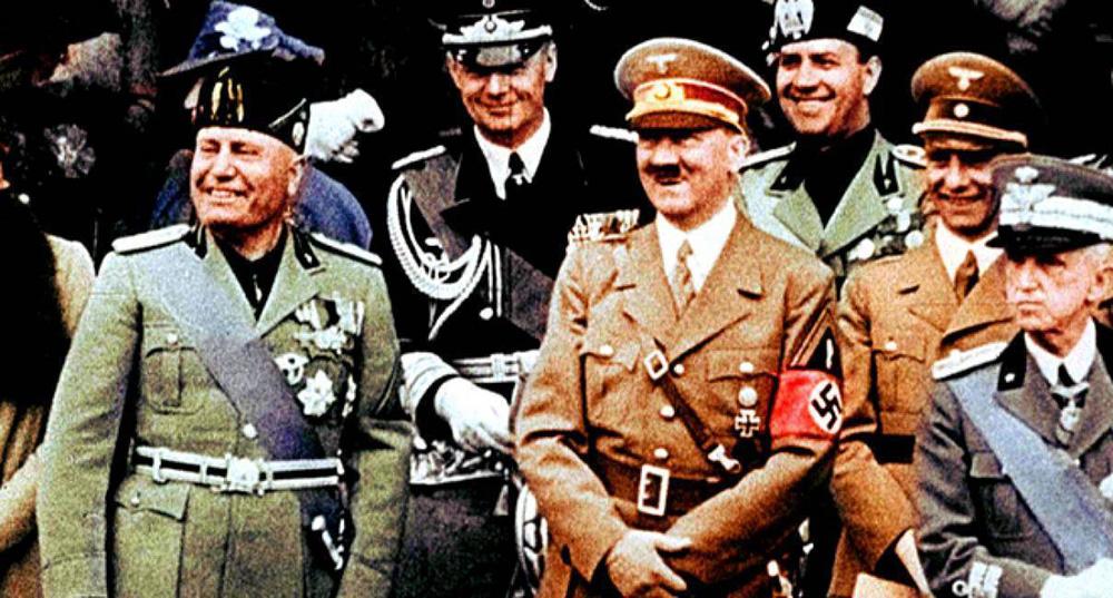 Mussolini e Hitler. Due dittatori a confronto (2). Il famoso incontro di  Roma del maggio 1938 « Ponza Racconta